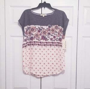 *Back to School* Rewind Top NWT
